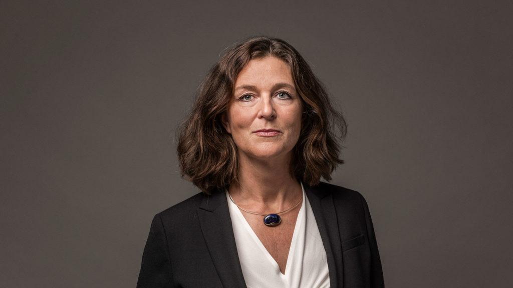Porträtt på Suzanne Håkansson, AstraZeneca