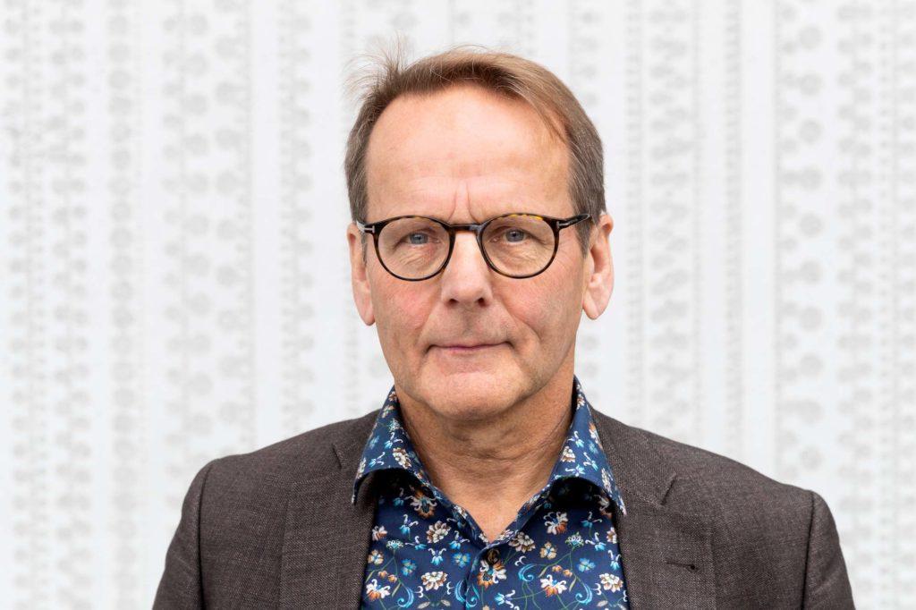 Porträtt på Kjell Bergfeldt